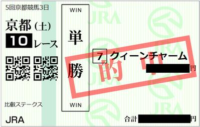 11月11日京都10R