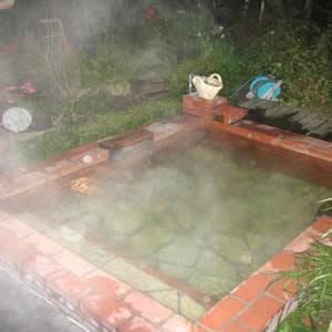 雲の上の露天風呂