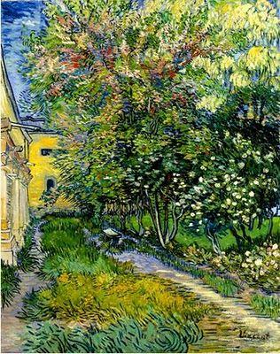 ゴッホ_サン=レミの療養院の庭