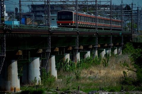 _TT19887 多摩川橋梁 E231系s-