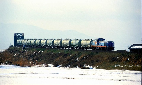 TDE113 s-樽見鉄道貨物列車