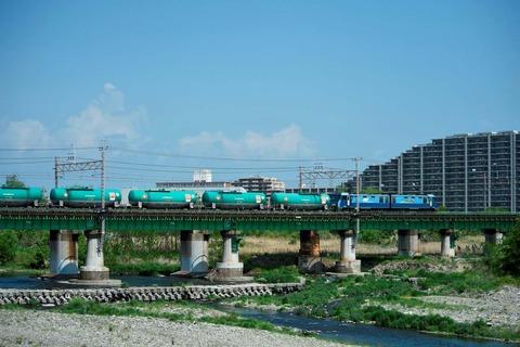_TT19879 多摩川橋梁 EH200-10s-