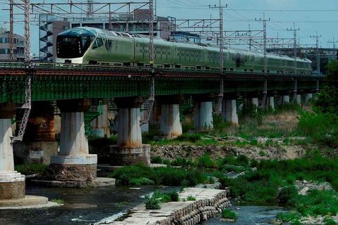 _TT19971 多摩川橋梁 四季島s-