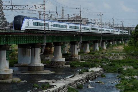 _TT19944 多摩川橋梁 E353系s-
