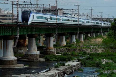 _TT19932 多摩川橋梁 E353系s-