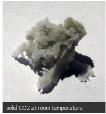 Solid CO2