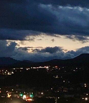 小諸からの夜景