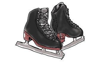 子供にとって初めてのスケート