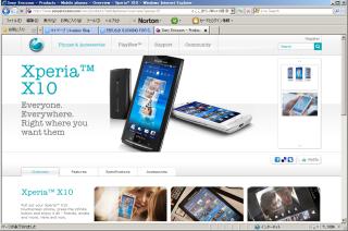 Sony Ericsson からスタイリッシュなAndroid携帯が発表になりました!