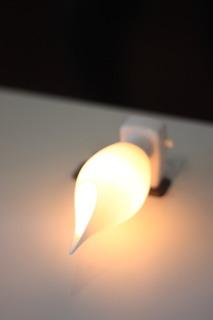 3Dプリンター体験講座で作ったランプシェード