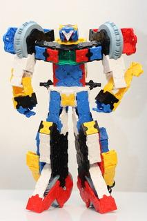 LaQで作った本格的なロボット:ハマクロンコマンダー