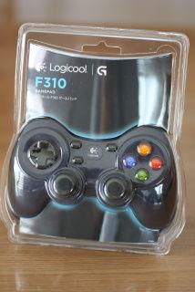 LOGICOOL ゲームパッド F310r を試してみた