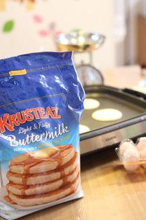 COSTCO(コストコ)で買ったパンケーキミックス