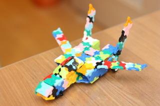 LaQで作ったジェット機