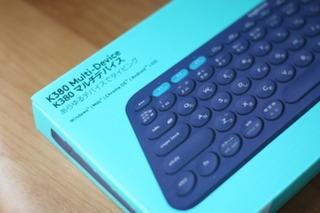 Logicool Bluetooth マルチデバイス キーボード K380BL
