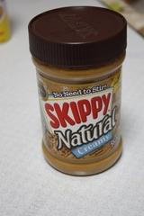 ナチュラルなピーナッツバター SKIPPY