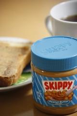クリーミーなピーナッツバター SKIPPY