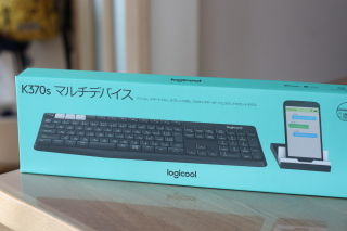 Logicool Bluetooth/Unifying キーボード K370s