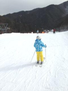 子供と初スキー