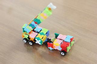 LaQで作ったハシゴ車