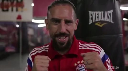 Ribery boksör oldu   YouTube