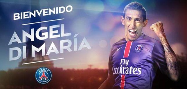 PSG、ディ・マリア獲得を正式発表!2019年までの契約