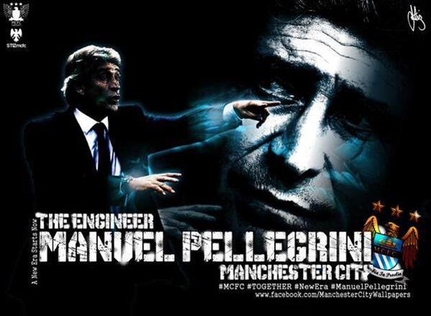 マンチェスター・シティ、ペジェグリーニ監督と契約延長!2017年までと発表