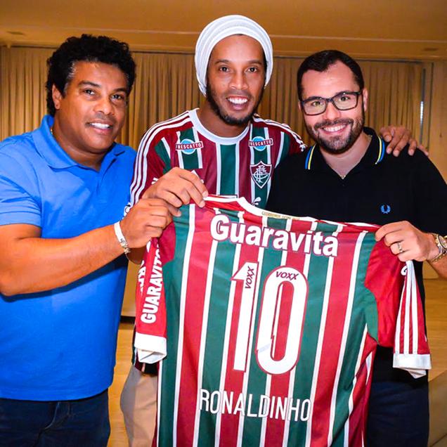 ロナウジーニョ、トルコではなくブラジルフルミネンセに移籍!