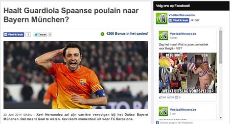 Haalt Guardiola Spaanse poulain naar Bayern München    VoetbalNieuws.be