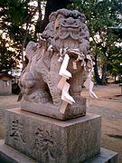 135px-Iwaya_Jinja_Komainu_2