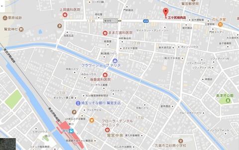 三ヶ尻さん地図