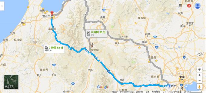 富山県富山市 - Google マップ