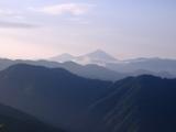 磐梯山が見えた(ピンボケ・・・)