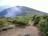 分岐点から南屏風岳方面