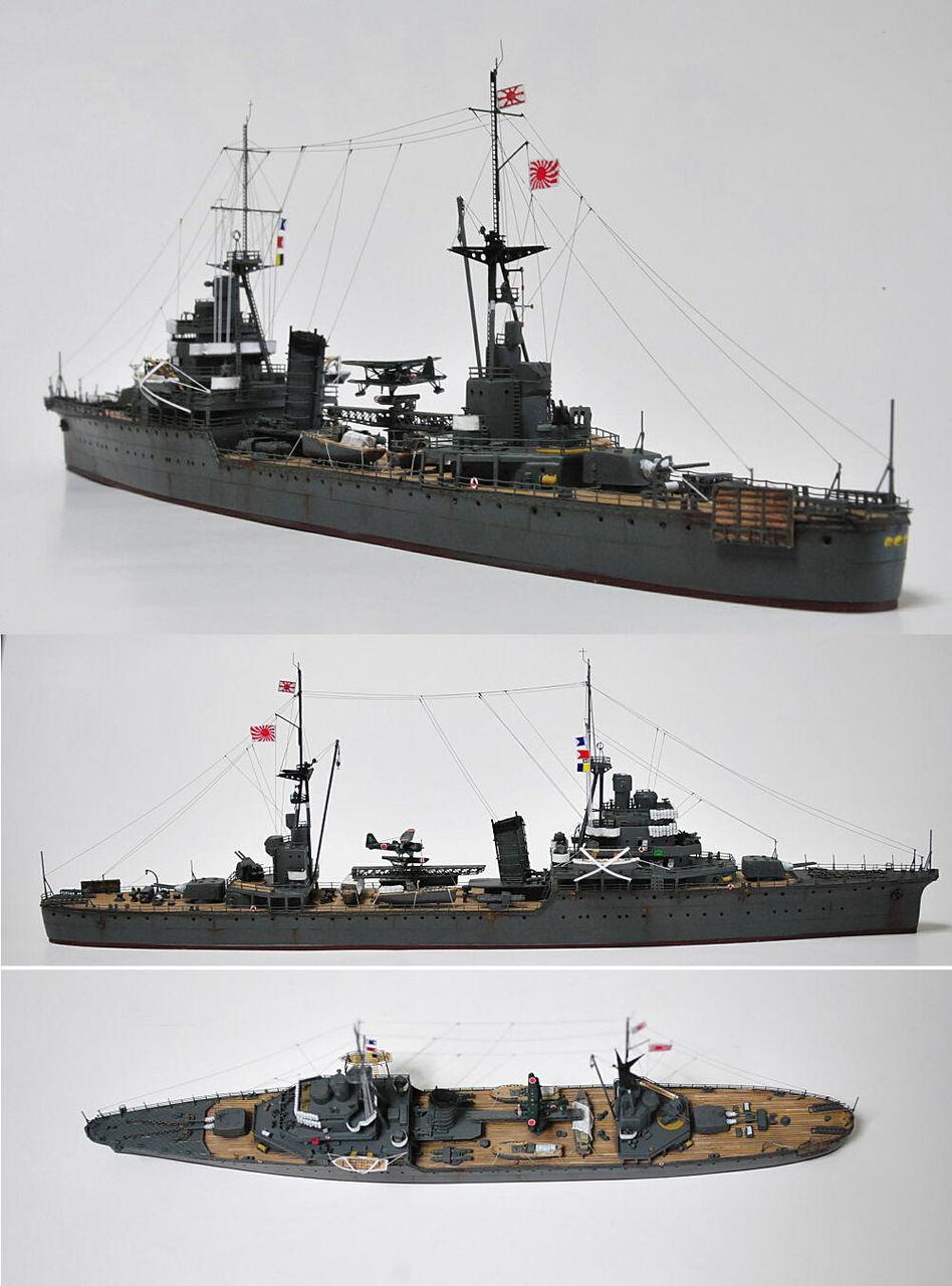 多摩工房1/700大戦艦      1/700 日本海軍 軽巡洋艦 香取 潜水艦隊旗艦 1944    コメントトラックバック                superknight2007