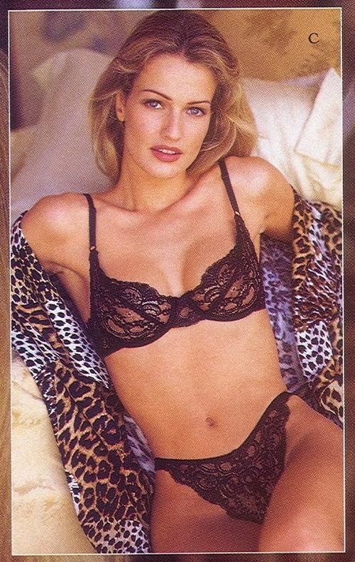 1993 karen mulder victoria secret leopard 2