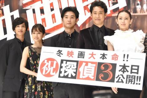 『探偵はBARにいる3』北川景子&前田敦子の褒め合いが凄い!!「どの角度からでもキレイ」