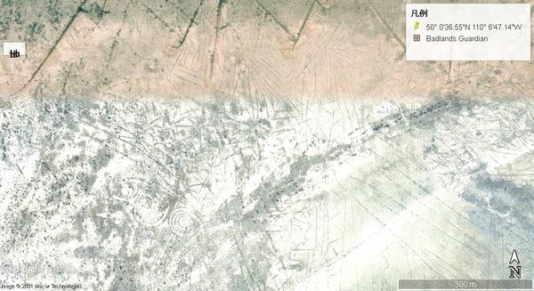 ナミビアの渦巻地上絵2