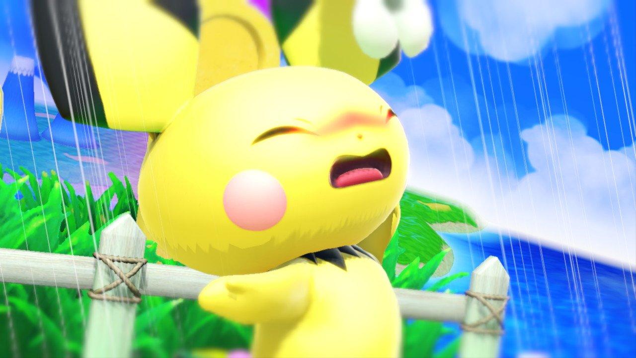 ピチュー産卵