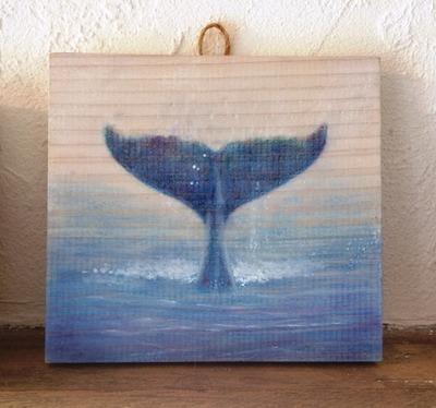クジラ 描いてみる
