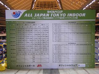 東京インドア
