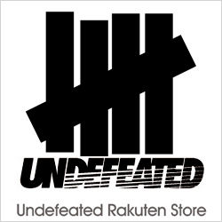 楽天市場内では唯一の UNDEFEATED オフィシャル店舗( アンディフィーテッド )