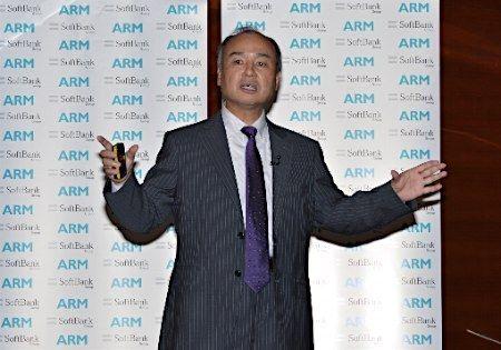 ソフトバンク 英ARM買収