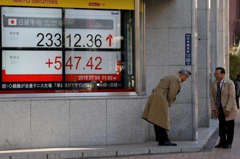 日本株を読め!【2018.1.6】大相場の入り口へ