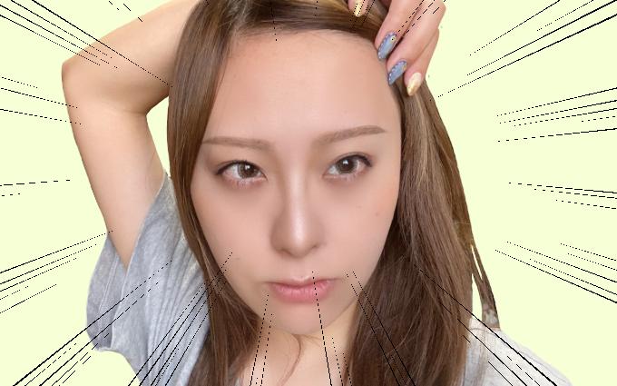 眉なし眉毛メイク13