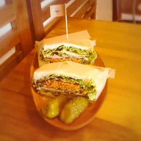 ニコ屋サンドイッチ