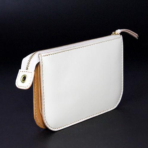 RHYTHM のお財布 ZIP 限定カラー ホワイト