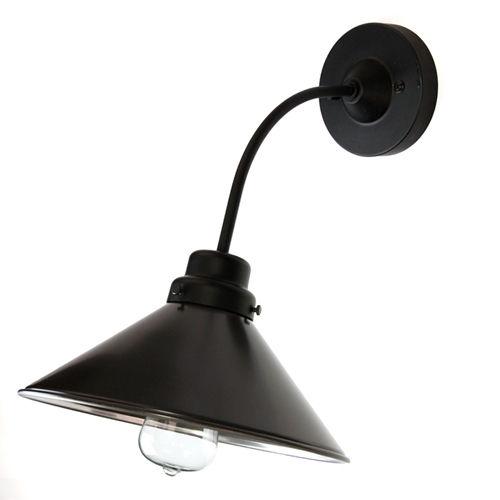 後藤照明バイスロウ アルミP5墨黒電柱型ブラケット