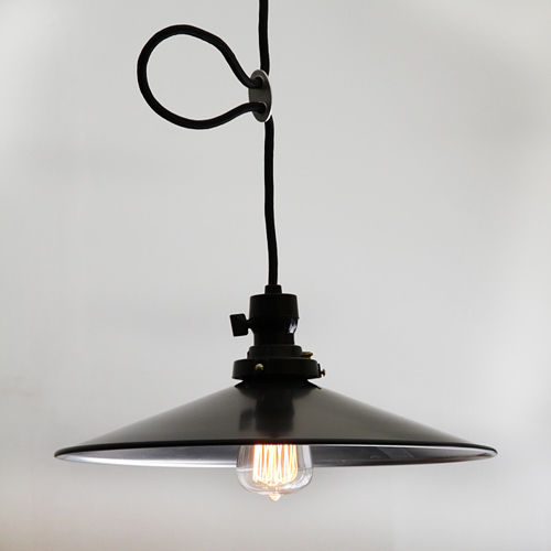 後藤照明バイスロウ アルミP1L墨黒CP型
