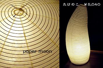 和紙の照明(浅野商店)
